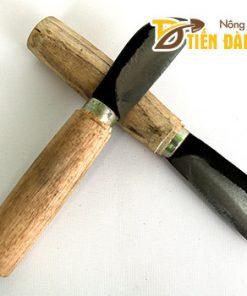 Dao ghép cây cán gỗ thép đen – G6
