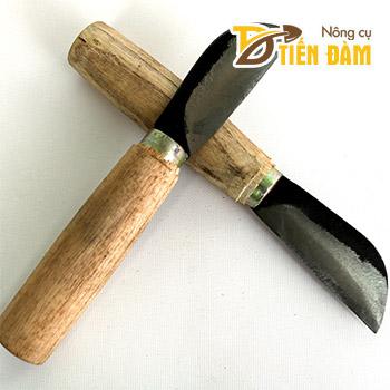 Dao ghép cây cán gỗ thép đen - G6