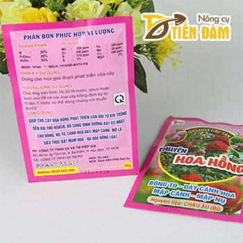Phân bón lá cho hoa hồng giữ hoa lâu tàn - T152