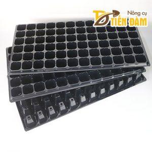 5 Khay ươm hạt giống nhựa đen 50 lỗ - CH15