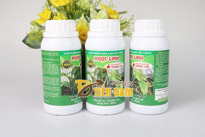 Sản phẩm Thối nhũn Ngọc Linh đặc trị bệnh thối nhũn trên lan và cây cảnh