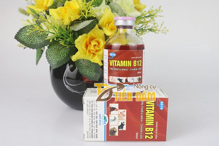 Chế phẩm Vitamin B12 giải độc cho lan và cây cảnh