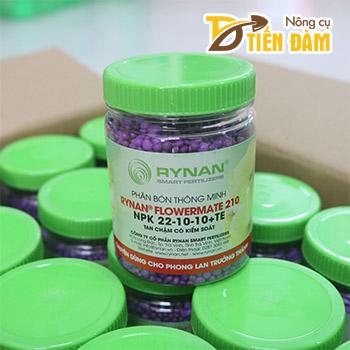 Phân bón Rynan Flowermate 210 NPK 22-10-10+TE lọ 150g – T161