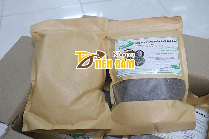 Phân trùn quế tan chậm 100% nguyên chất
