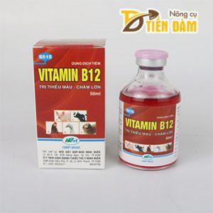 Chế phẩm Vitamin B12 giải độc cho cây trồng lọ 50ml – T163
