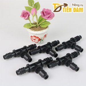 Đầu nối ống chia nhánh tưới cây phi 10mm – bộ 5 cái – D95