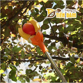 Vợt hái trái cây trên cao dài 1,5m - D107