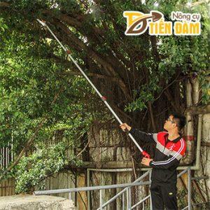 Kéo cắt cành cây trên cao Nhật Bản dài 4m – K60
