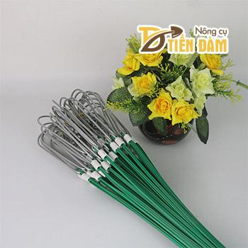 10 Móc treo lan 3 dây nhôm bọc nhựa - VTK12