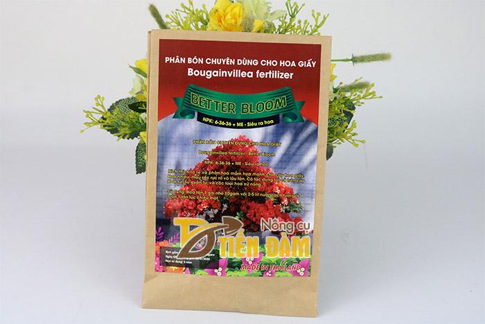 Phân bón cho hoa giấy Better Bloom nhập khẩu Thái Lan