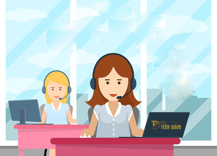 Hướng dẫn đặt hàng bằng cách liên hệ trực tiếp đến Hotline